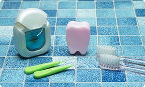 歯間ブラシ・デンタルフロ
