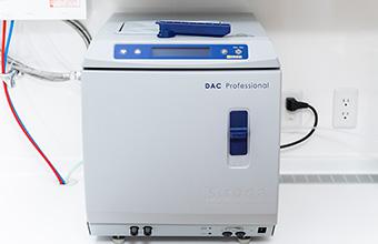 クラスBの高圧蒸気滅菌器