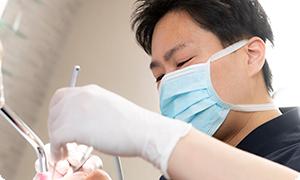 口腔内の前処置