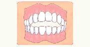 イラスト:口が閉じない