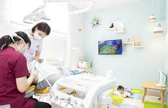 写真:予防歯科に力を入れています。